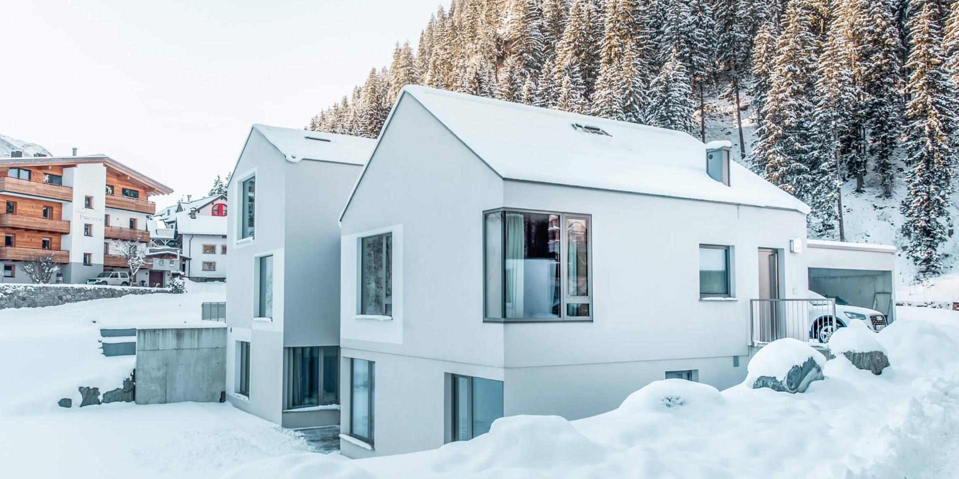 Laudinella Apart Lage Winter